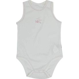 Baby Center 88905 Balıklı Bebek Body Ekru-pembe 2 Yaş (92 Cm) Erkek Bebek Body