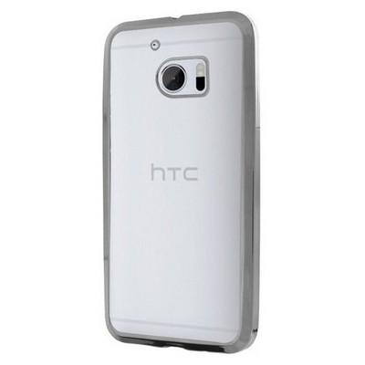Microsonic Htc 10 Kılıf Flexi Delux Gümüş Cep Telefonu Kılıfı