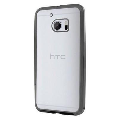 Microsonic Htc 10 Kılıf Flexi Delux Siyah Cep Telefonu Kılıfı