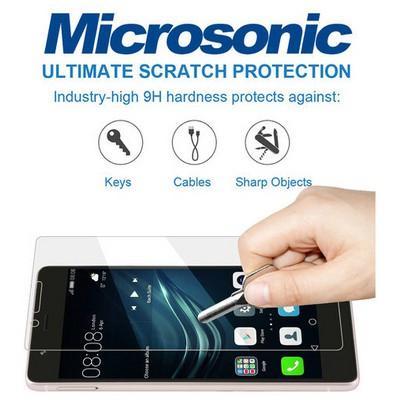 Microsonic Huawei P9 Temperli Cam Ekran Koruyucu Kırılmaz Film Ekran Koruyucu Film