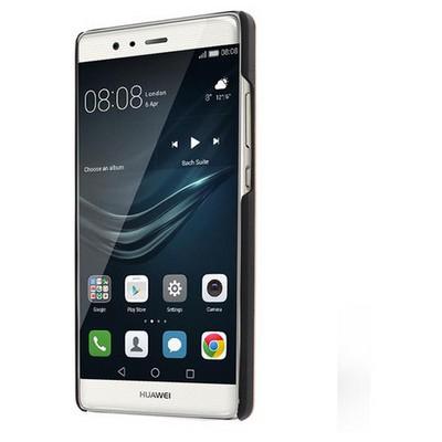 Microsonic Huawei P9 Kılıf Hybrid Metal Mavi Cep Telefonu Kılıfı