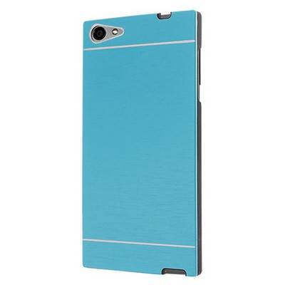 Microsonic Casper Via V9 Kılıf Hybrid Metal Mavi Cep Telefonu Kılıfı