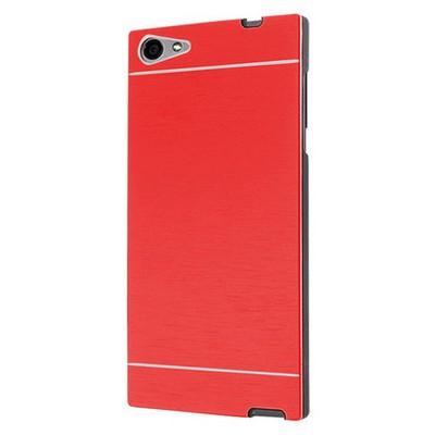 Microsonic Casper Via V9 Kılıf Hybrid Metal Kırmızı Cep Telefonu Kılıfı