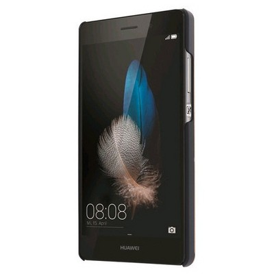 Microsonic Huawei P8 Lite Kılıf Hybrid Metal Kırmızı Cep Telefonu Kılıfı