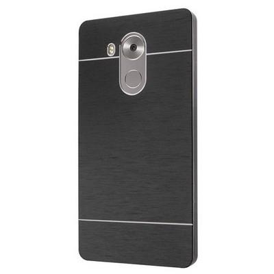 Microsonic Huawei Mate 8 Kılıf Hybrid Metal Siyah Cep Telefonu Kılıfı