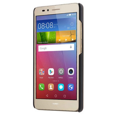 Microsonic Huawei Gr5 (honor 5x/x5) Kılıf Hybrid Metal Mavi Cep Telefonu Kılıfı