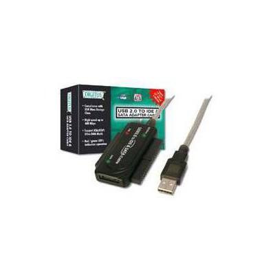 Digitus DA-70148 USB 2.0 - IDE ve Serial ATA (SATA) Dönüştürücü Adaptör. Çevirici Adaptör