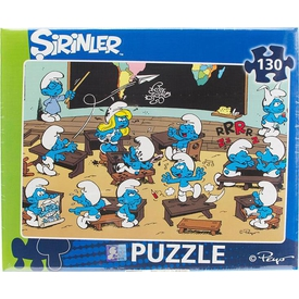 Şirinler 130 Parça Puzzle
