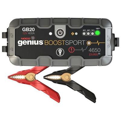Noco Genius Gb20 12v 400amp Ultrasafe Lityum Akü Takviye + Powerbank + Led Lamba Akü Şarj Cihazı