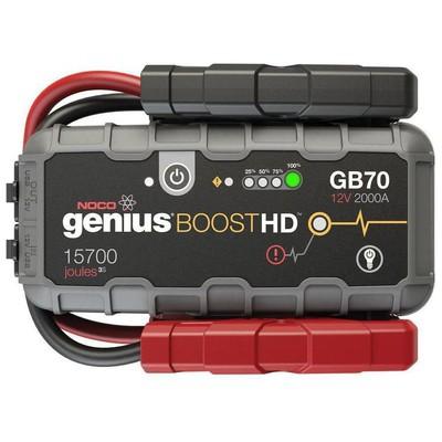 Noco Genius Gb70 12v 2000amp Ultrasafe Lityum Akü Takviye + Powerbank + Led Lamba Akü Şarj Cihazı