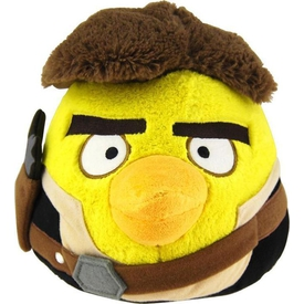 Angry Birds Star Wars Peluş Oyuncak Sarı 20 Cm Peluş Oyuncaklar