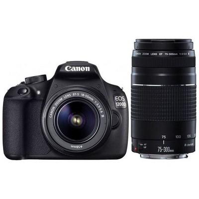 Canon 8714574633121 1200d 18-55 & 75-300ııı Usm Lens Fotoğraf Makinesi