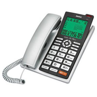 Multitek Mc140-grı Kablolu Mc140 Masa Telefonu Gri Kablolu Telefon