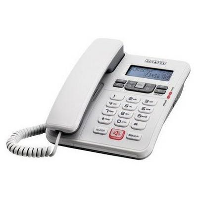 Alcatel T55-beyaz Kablolu Cıd Masa Telefonu Beyaz Kablolu Telefon