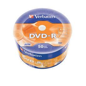 Verbatim Dvd-r 50 Wrap Matt Silver 16x 4.7gb CD/DVD & Çanta