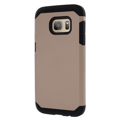 Microsonic Samsung Galaxy S7 Kılıf Slim Fit Dual Layer Armor Gold Cep Telefonu Kılıfı