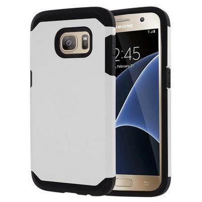 Microsonic Samsung Galaxy S7 Kılıf Slim Fit Dual Layer Armor Beyaz Cep Telefonu Kılıfı