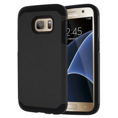 Microsonic Samsung Galaxy S7 Kılıf Slim Fit Dual Layer Armor Siyah Cep Telefonu Kılıfı