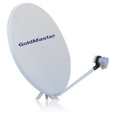 Goldmaster 80'lik Tekli Çanak Anten Seti (Kurulumsuz) Uydu Alıcı