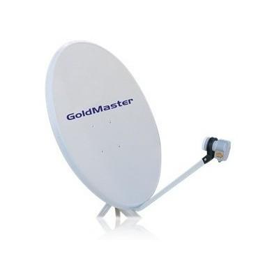 Goldmaster 85' Lik Çiftli Çanak Anten Seti (Kurulmusuz) Media Player