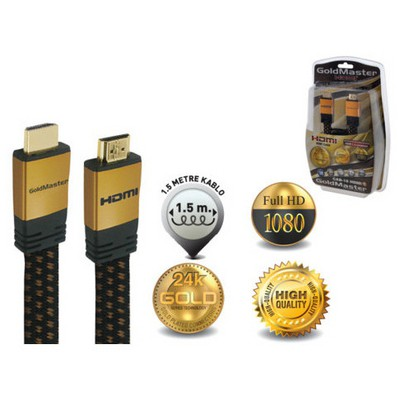 Goldmaster Cab-18 Hdmı Kablo HDMI Kablolar