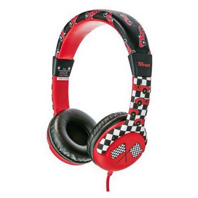 Trust Urban 20953 Spıla Çocuklar Için Kulaklık-araba Desenli Kafa Bantlı Kulaklık