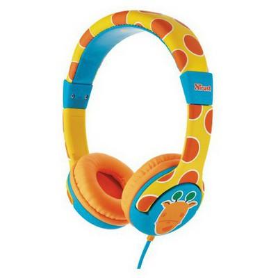 Trust Urban 20952 Spila Çocuklar Için Kulaklık-Zürafa Desenli Kafa Bantlı Kulaklık