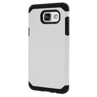 Microsonic Samsung Galaxy A7 2016 Kılıf Slim Fit Dual Layer Armor Beyaz Cep Telefonu Kılıfı