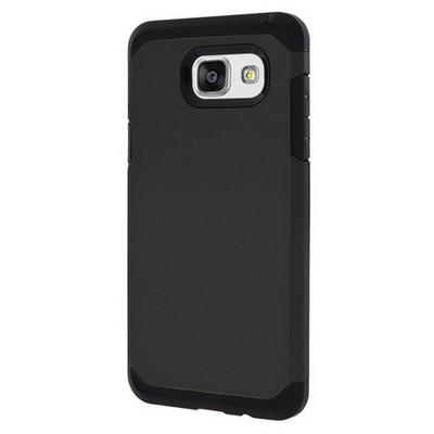 Microsonic Samsung Galaxy A7 2016 Kılıf Slim Fit Dual Layer Armor Siyah Cep Telefonu Kılıfı