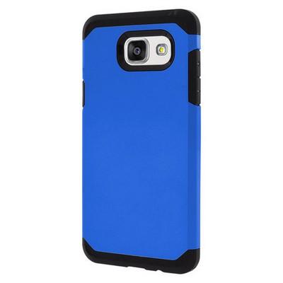 Microsonic Samsung Galaxy A5 2016 Kılıf Slim Fit Dual Layer Armor Mavi Cep Telefonu Kılıfı