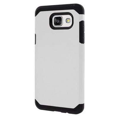 Microsonic Samsung Galaxy A5 2016 Kılıf Slim Fit Dual Layer Armor Beyaz Cep Telefonu Kılıfı