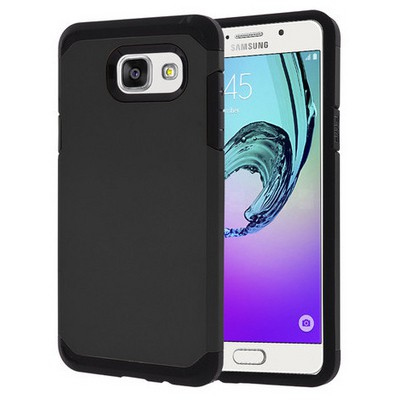 Microsonic Samsung Galaxy A5 2016 Kılıf Slim Fit Dual Layer Armor Siyah Cep Telefonu Kılıfı