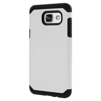 Microsonic Samsung Galaxy A3 2016 Kılıf Slim Fit Dual Layer Armor Beyaz Cep Telefonu Kılıfı
