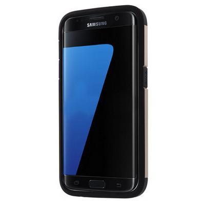 Microsonic Samsung Galaxy S7 Edge Kılıf Slim Fit Dual Layer Armor Gold Cep Telefonu Kılıfı