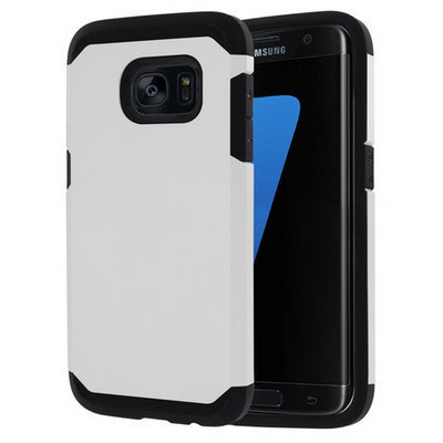 Microsonic Samsung Galaxy S7 Edge Kılıf Slim Fit Dual Layer Armor Beyaz Cep Telefonu Kılıfı