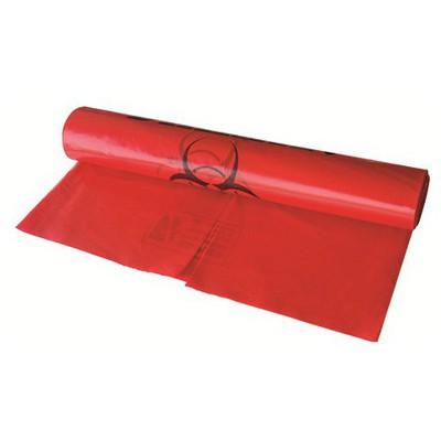 Dispo Tıbbi Atık Çöp Poşeti Battal Boy 70 X 90 Cm Kırmızı 10 Adet Çöp Torbaları