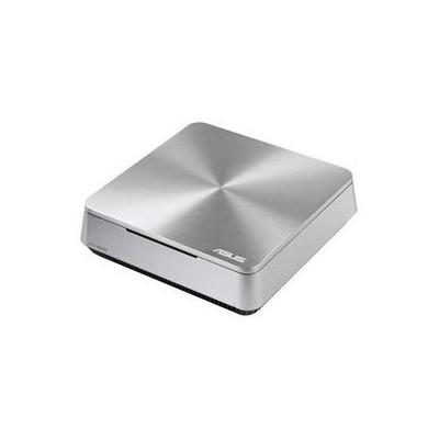 "Asus Vıvopc Vm40b-s081m 1007u/4g 500g 3.5"" Dos Gümüş 3yıl Hdmı-vga-ac Wifi-bt-speaker (kbm Yok) Mini PC"