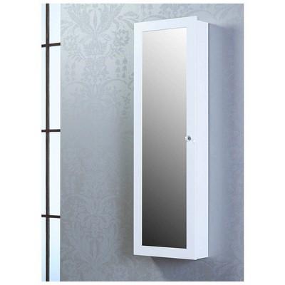 Bestline Aynalı Takı ve Aksesuar Dolabı (Duvara Asma) - Beyaz Takı Dolabı