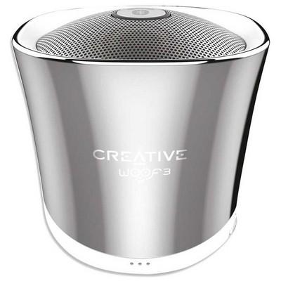Creative WOOF3 Kişisel Gümüş Kablosuz Speaker