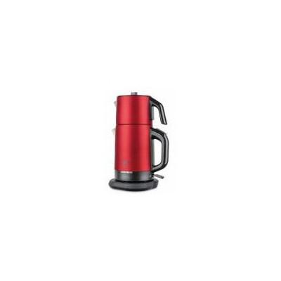 Fakir River Paslanmaz Çelik -Kırmızı Çay Makinesi