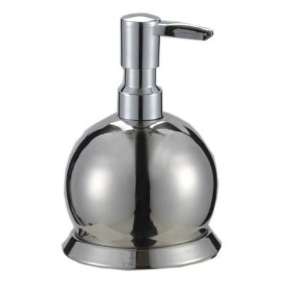 Çelik Ayna Sıvı Sabunluk Krom Küre Banyo Gereçleri