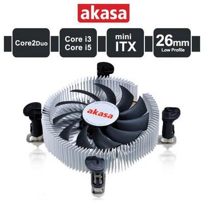 Akasa Slim Cpu ı 1155/1156/775/1151 Fan