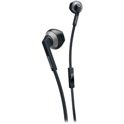 Philips She3205bk/00 Kulakiçi Siyah Mikrofonlu Cep Telefonu Kulaklığı Kulak İçi Kulaklık