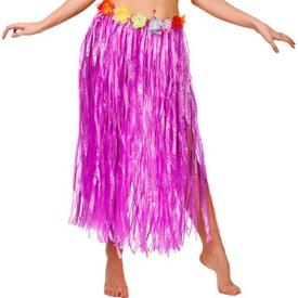Parti Paketi Hawaii Eteği, Fuşya Uzun Yetişkin Kostümleri