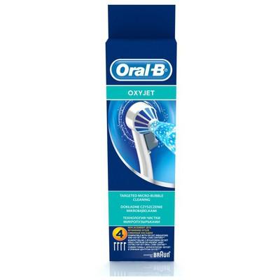 Oral-B Ağız Duşu Yedek Başlığı Oxyjet 4 adet Şarjlı Diş Fırçası