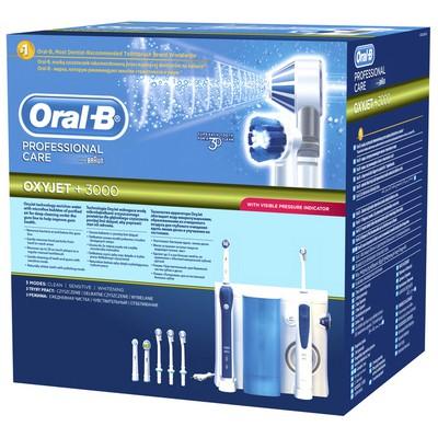 Braun Oral-B Ağız Bakım Merkezi Oxyjet + 3000 Oc20 Şarjlı Diş Fırçası