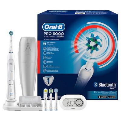 Oral-B SmartSeries Pro 6000 Bluetooth Şarjlı Diş Fırçası
