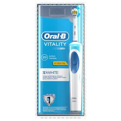 Braun Oral-B D12 Vitality Şarj Edilebilir Diş Fırçası 3D White Şarjlı Diş Fırçası