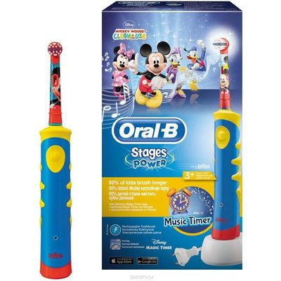 Oral-B Stages Power Kids Mickey Fare Şarjlı Diş Fırçası