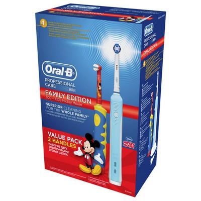 Oral-B Professional Care Sınırlı Üretim Aile Paketi D16 + D10 Şarjlı Diş Fırçası Ağız ve Diş Bakımı